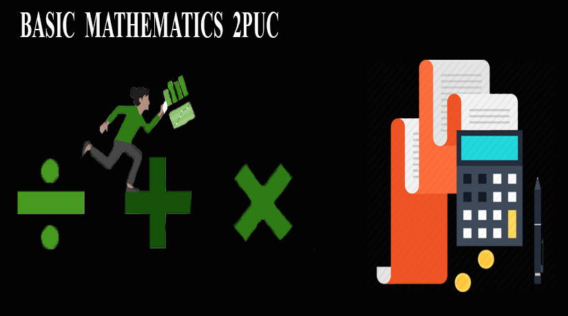 2nd Puc Basic Mathematics for Karntaka State Board | Simple