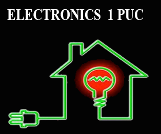 1st Puc Electronics Karnataka E Learning Simple Lecture Electronic Circuits Questions And Answers Pdf