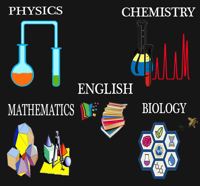 1st year PUC Physics, Chemistry, Math, Computer Science and